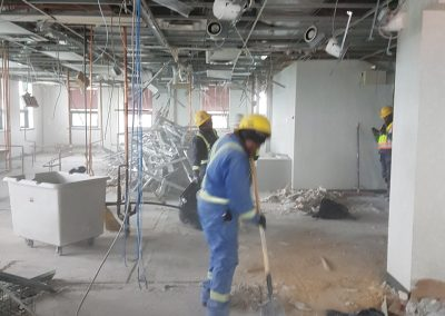 Residential Demolition - Exterior Wall removal